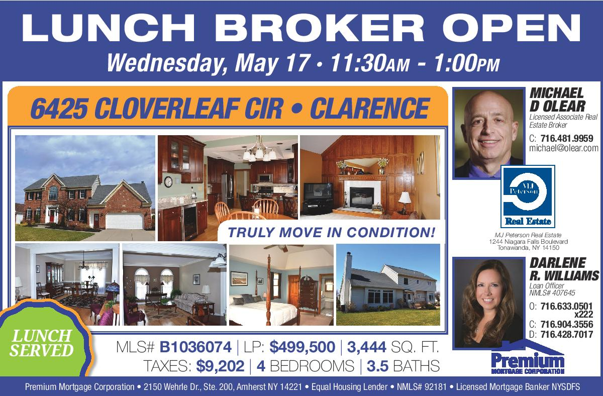 New Broker's Open House – See a Truly Move-In-Ready Clarence Home  AH27