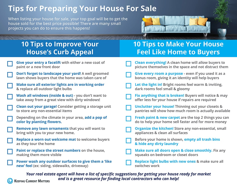 Tips For Selling A House Buffalo Home Sellers Buffalo NY Real Estate